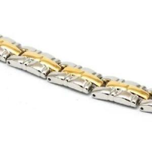 【送料無料】ブレスレット アクセサリ― コレクションブレスレットインチthe olivia collection silvertone amp; goldtone magnetic bracelet 75 inches
