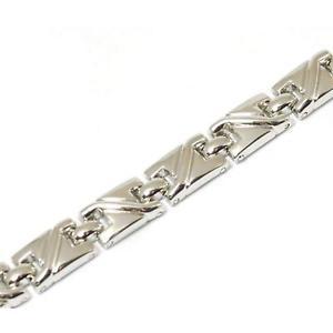 【送料無料】ブレスレット アクセサリ― コレクションレディースブレスレットインチthe olivia collection ladies silvertone magnetic bracelet 75 inches