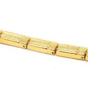 【送料無料】ブレスレット アクセサリ― コレクションレディーススクエアリンクブレスレットインチthe olivia collection ladies goldtone square link magnetic bracelet 75 inches
