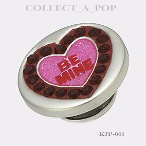 【送料無料】ブレスレット アクセサリ― スターリングシルバーauthentic kameleon sterling silver red be mine lovepop jewelpop kjp601 *retired