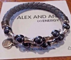【送料無料】ブレスレット アクセサリ― アレックスラップラップグレーブレスレットalex and ani wrap rooted mystery wrap crag grey bracelet 11
