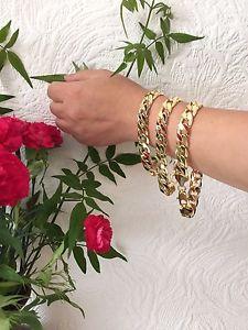 【送料無料】ブレスレット アクセサリ― kイエローゴールドブレスレットチェーンメンズクリスマスプレゼント2025cm 1012mm 18k yellow gold bracelet chain mens birthday christmas present