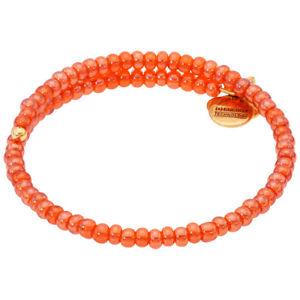 【送料無料】ブレスレット アクセサリ― アレックスアプリコットラップラファエリアンゴールドビーズブレスレットトイレalex and ani apricot wrap rafaelian gold finish beaded bracelet v18wc03rg