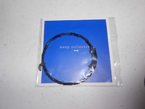 【送料無料】ブレスレット アクセサリ― ビーズラップブレスレットkeep collective beaded wrap bracelet strength midnight
