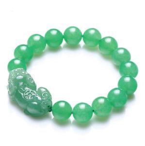 【送料無料】ブレスレット アクセサリ― パイヤーオブレスレットhandwoven natural green jade pi yao bracelet