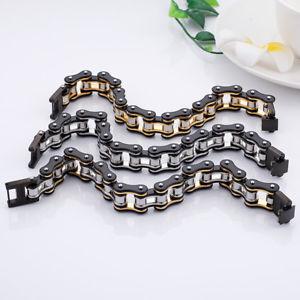 【送料無料】ブレスレット アクセサリ― ステンレススチールオートバイライダーブレスレットチェーンヒップホップメンズジュエリー116g stainless steel 16mm motorcycle biker bracelet chain hiphop mens jewelry
