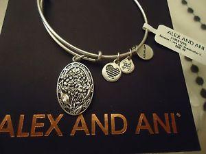 【送料無料】ブレスレット アクセサリ― アレックスロシアタグカードボックスalex and ani because i love you grandmother ii russian silver w tag card box