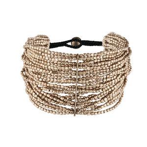 【送料無料】ブレスレット アクセサリ― シルバートーンカラーストランドブレスレット81stgeneration brass silver tone colour small mixed 24 strand bracelet