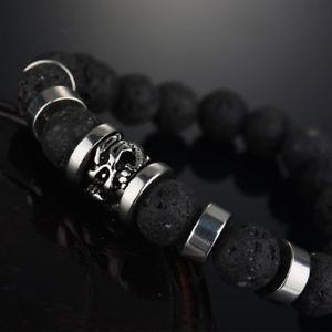 【送料無料】ブレスレット アクセサリ― ブレスレットステンレススチールドラゴンブラックバイカーファッション