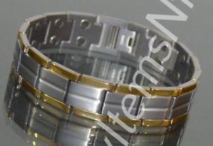 【送料無料】ブレスレット アクセサリ― エネルギーチタニウムブレスレットスカラーenergy power titanium bracelet scalar quantum with strong magnets anti emf