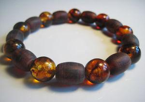 【送料無料】ブレスレット アクセサリ― ラウンドバルトブレスレットround genuine baltic amber bracelet 158 g