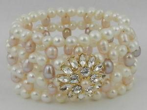 【送料無料】ブレスレット アクセサリ― carolee ブレスレットcarolee cultured freshwater pearl stretch bracelet