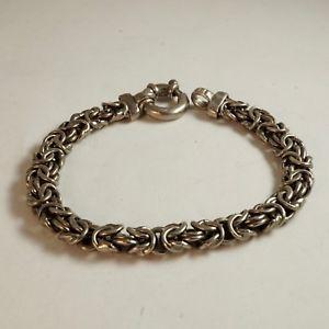 【送料無料】ブレスレット アクセサリ― イタリアスターリングシルバーブレスレットitalian sterling silver bracelet