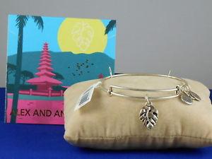 【送料無料】ブレスレット アクセサリ― アレックスラファエリアンパームリーフブレスレットドルalex and ani rafaelian silvertone palm leaf expandable bracelet a18ebplrs 28