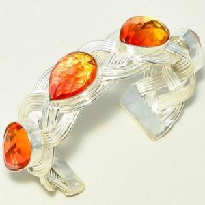 【送料無料】ブレスレット アクセサリ― stylish multi tourmaline gemstone925bracelet cuffstylish multi tourmaline gemstone 925 silver bracelet cuff