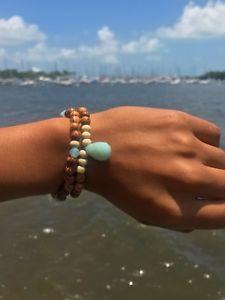 【送料無料】ブレスレット アクセサリ― ブレスレットamazonite mala bracelet set
