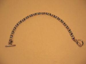 【送料無料】ブレスレット アクセサリ― ブレスレットトグル925ビーディッド5mmスターリング347bracelet toggle blue cats eye 5 mm sterling silver beads 7 34 in 925 beaded