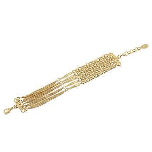 【送料無料】ブレスレット アクセサリ― チェーンブレスレットberricle goldtone statement chain bracelet
