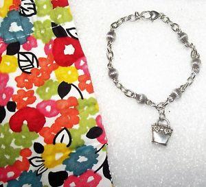 【送料無料】ブレスレット アクセサリ― ブライトンリンクブレスレットハンドバッグポーチミントbrighton silver plated link bracelet with handbag purse charm amp; pouch mint