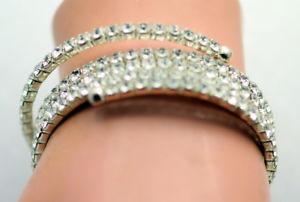 【送料無料】ブレスレット アクセサリ― ラインストーンラップブレスレットrhinestone wrap bracelet