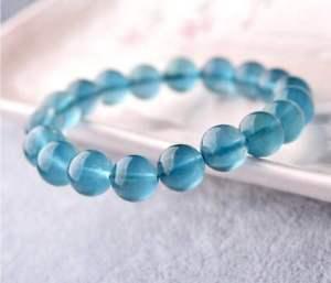 【送料無料】ブレスレット アクセサリ― ラウンドストレッチブレスレット8mm 12mm natural blue fluorite crystal round stretch bracelet jewelry gift