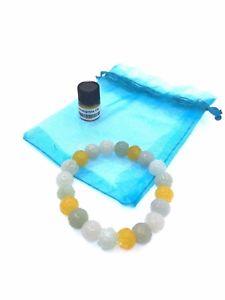 【送料無料】ブレスレット アクセサリ― ブレスレットnatural jade lotus flower carving bracelet with essential oil
