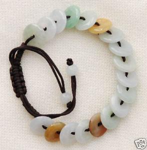 【送料無料】ブレスレット アクセサリ― コードr001fortune rings, jade in silk cord bracelet r001