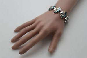 【送料無料】ブレスレット アクセサリ― ブレスレットファッションジュエリーネイティブヘッドエスニックwomen silver metal bracelet fashion jewelry amrican native head ethnic charms