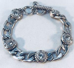 【送料無料】ブレスレット アクセサリ― chunky brighton flat curb link cz cubic zirconiaplated braceletchunky brighton flat curb link cz cubic zirconia silver pla