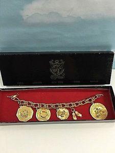 【送料無料】ブレスレット アクセサリ― vintage gold fashion girls lady charm braceletvintage gold fashion girls lady charm bracelet happy anniversary love hea