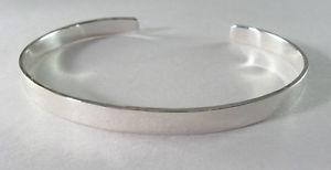 【送料無料】ブレスレット アクセサリ― 925カフス316925 sterling narrow flat cuff bracelet 316 wide