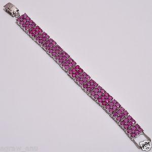 【送料無料】ブレスレット アクセサリ― ピンクルビーブレスレットグラムpink ruby 102 stones bracelets 75 32 gram free shipping gift b12