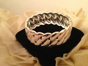 【送料無料】ブレスレット アクセサリ― シルバーヒンジブレスレットsilver hinge bracelet