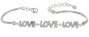 【送料無料】ブレスレット アクセサリ― スターリングシルバーブレスレットボックスsterling silver love bracelet amp; gift box