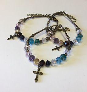 【送料無料】ブレスレット アクセサリ― ブレスレットクリスタルサイズアメリカフィットsearts psalm 23 bracelet b crystal brass one size fits all free usa shipping