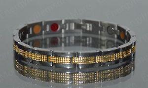 【送料無料】ブレスレット アクセサリ― エネルギーチタンスカラーブレスレットアンチenergy power titanium scalar quantum bracelet anti emf therapy  ** 4 in 1**