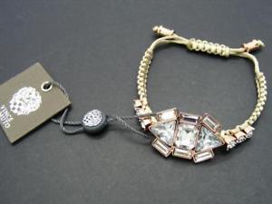 【送料無料】ブレスレット アクセサリ― ドルビンスジュエルセージグリーンマクラメラインストーンクラスターブレスレット38 vince camuto *jewel purpose* sage green macrame rhinestone cluster bracelet