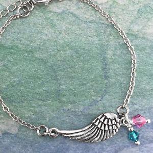 【送料無料】ブレスレット アクセサリ― スワロフスキークリスタルブレスレットangel wing bracelet with swarovski crystal
