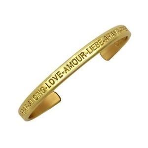 【送料無料】ブレスレット アクセサリ― セルジオカフブレスレットsergio lub brass cuff bracelet love brass medium