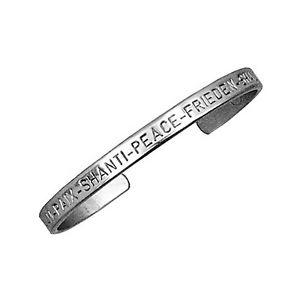 【送料無料】ブレスレット アクセサリ― セルジオドイツシルバーカフブレスレットシルバーsergio lub german silver cuff bracelet peace silver large