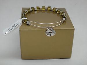 【送料無料】ブレスレット アクセサリ― アレックスアニtrailblazer ew8シダビーズワイヤーブレスレットnwtalex and ani leather trailblazer ew8, fern beaded wire bracelet, nwt