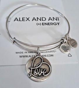 【送料無料】ブレスレット アクセサリ― アレックスロシアブレスレットalex and ani love iii russian silver expandable bracelet