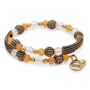 【送料無料】ブレスレット アクセサリ― アレックスラップラファエリアンゴールドビーズラップブレスレットドルalex and ani~ destiny wrap~ terra ~ rafaelian gold beaded wrap bracelet~nwt 38