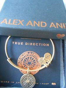 【送料無料】ブレスレット アクセサリ― アレックスブレスレットラファエリアンゴールドalex and ani true direction expandable bracelet rafaelian gold nwtbc