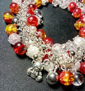 【送料無料】ブレスレット アクセサリ― ブライトbeautiful bright beaded bracelet
