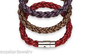 【送料無料】ブレスレット アクセサリ― レザーブレスレットモロッコalraune, leather bracelet coolberry , 7 12in, moroccan red, 102728
