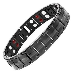 【送料無料】ブレスレット アクセサリ― エネルギーチタンスカラーブレスレットアンチenergy power titanium scalar quantum bracelet anti emf magnet  ** 4 in 1**