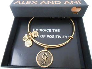 【送料無料】ブレスレット アクセサリ― アレックスアニinitialjブレスレットrafaeliannwtbcalex and ani initial j expandable bracelet rafaelian gold nwtbc