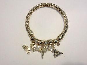 【送料無料】ブレスレット アクセサリ― ブレスレットkirks folly butterfly charm bracelet nwot