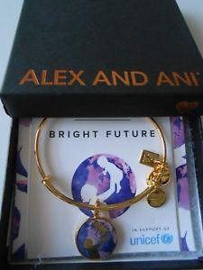 【送料無料】ブレスレット アクセサリ― アレックスワイヤーブレスレットイエローゴールドalex and ani bright future expandable wire bracelet yellow gold finish nwtbc
